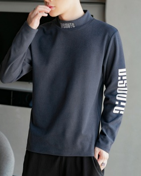 Long sleeve bottoming shirt fashion T-shirt for men