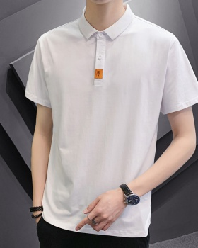 Short sleeve summer T-shirt pure cotton tops for men