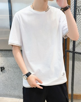 Korean style fashion short sleeve summer T-shirt for men