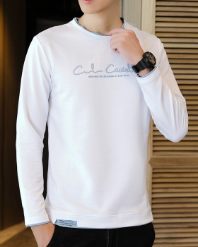 Long sleeve autumn round neck T-shirt
