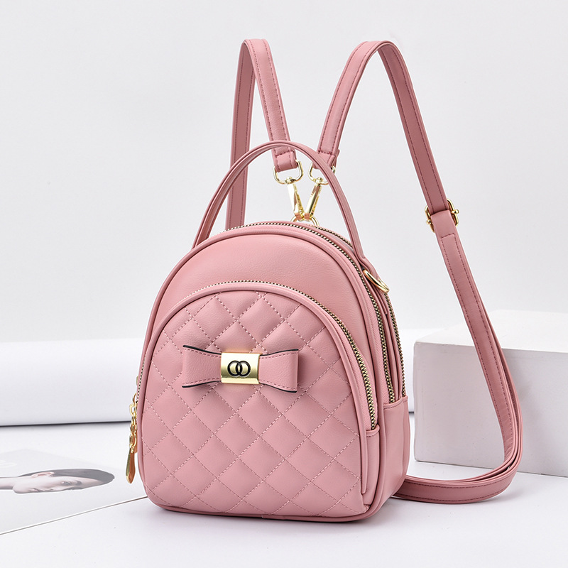 Personality messenger backpack shoulder packet for women
