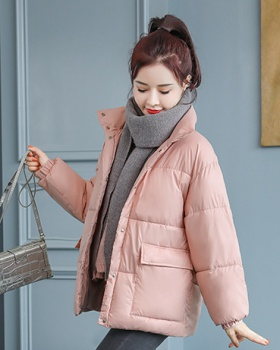 Korean style down coat bread clothing for women
