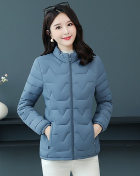 Large yard middle-aged cotton coat light thermal coat for women