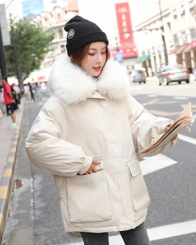 Autumn and winter cotton coat short down coat