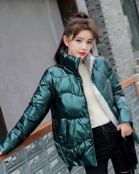 Loose Casual coat cstand collar cotton coat for women