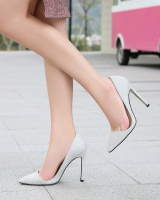 Pointed summer high-heeled shoes for women
