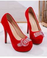 Stage European style catwalk high-heeled shoes for women