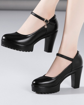 Thick crust shoes thick platform for women