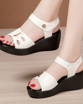 Trifle all-match sandals slipsole platform for women