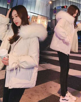 Winter Korean style bread clothing short down coat for women