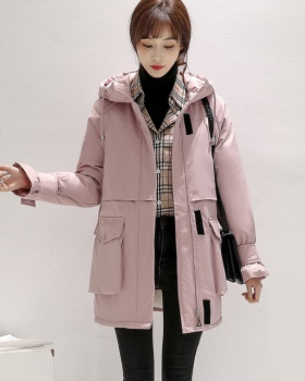 Loose thick down coat winter student cotton coat for women