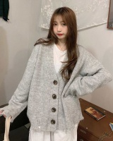 Autumn and winter cardigan cashmere tops for women