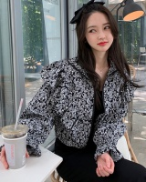Autumn Korean style jacket zip cardigan for women
