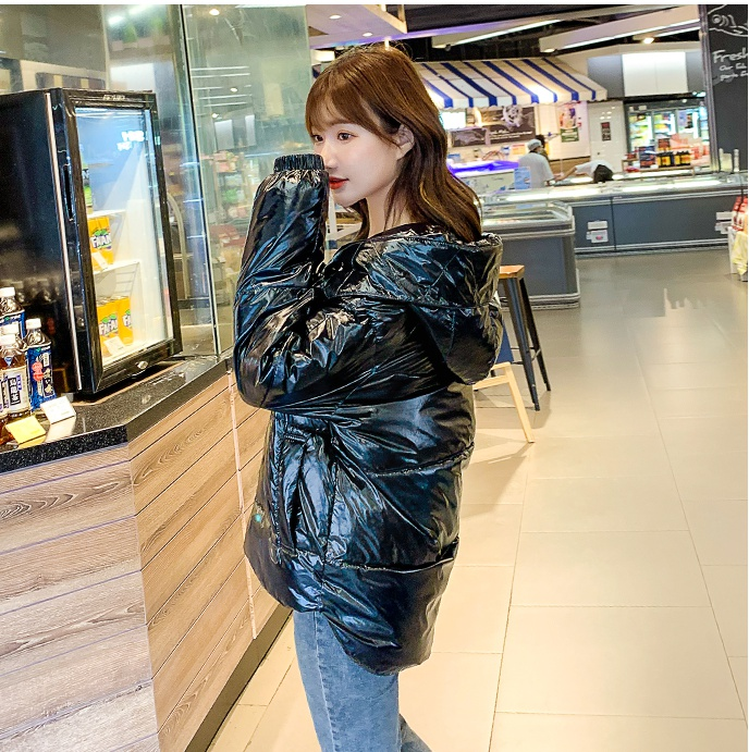 Candy colors down coat bread clothing for women