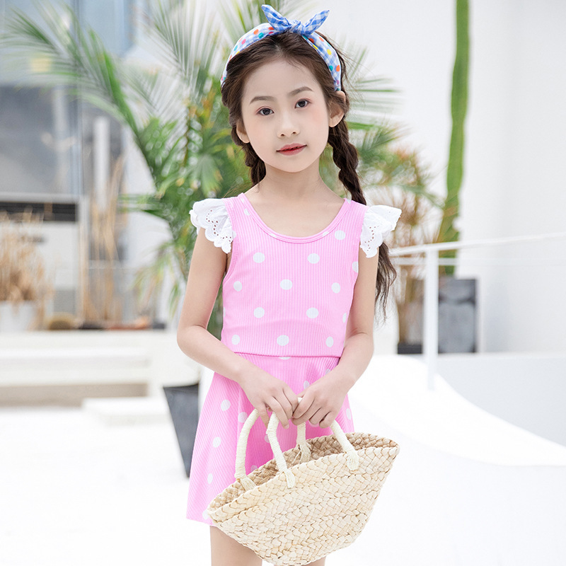 Baby child vacation swimwear lovely seaside skirt for women
