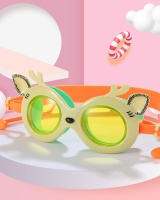 Plain glass youth waterproof glasses