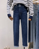 Feet Korean style jeans loose harem collapse pants