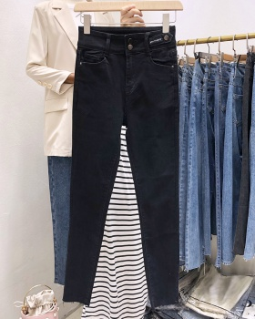 Autumn pencil pants tight jeans for women