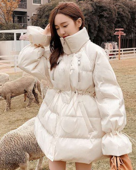 Long loose coat winter refreshing cotton coat