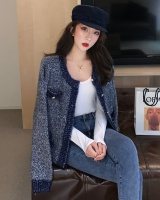 Long sleeve liangsi cardigan knitted tops for women