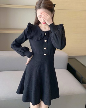 Autumn and winter autumn knitted dress for women