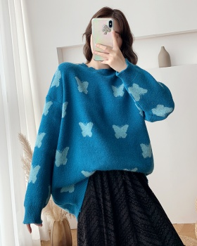 Loose tops autumn and winter sweater for women