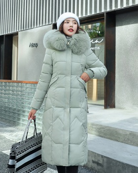 Down slim coat Korean style fashion cotton coat for women