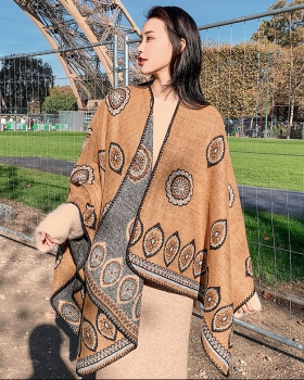 Vacation outside the ride shawl national style cloak