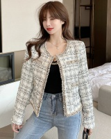 Retro Casual tops Korean style fashion cardigan for women