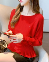Korean style autumn bottoming shirt loose sweater for women