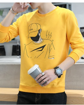 Thick fashion T-shirt autumn hoodie for men