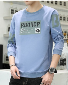 Long sleeve thick bottoming shirt plus velvet T-shirt for men