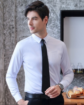 Non-ironing modal shirt profession work clothing for men