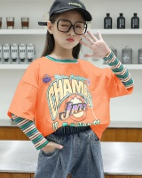Child girl T-shirt autumn Korean style kids