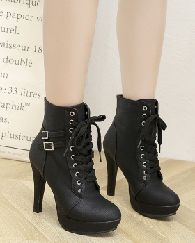 Bandage cross short boots fashion women's boots for women