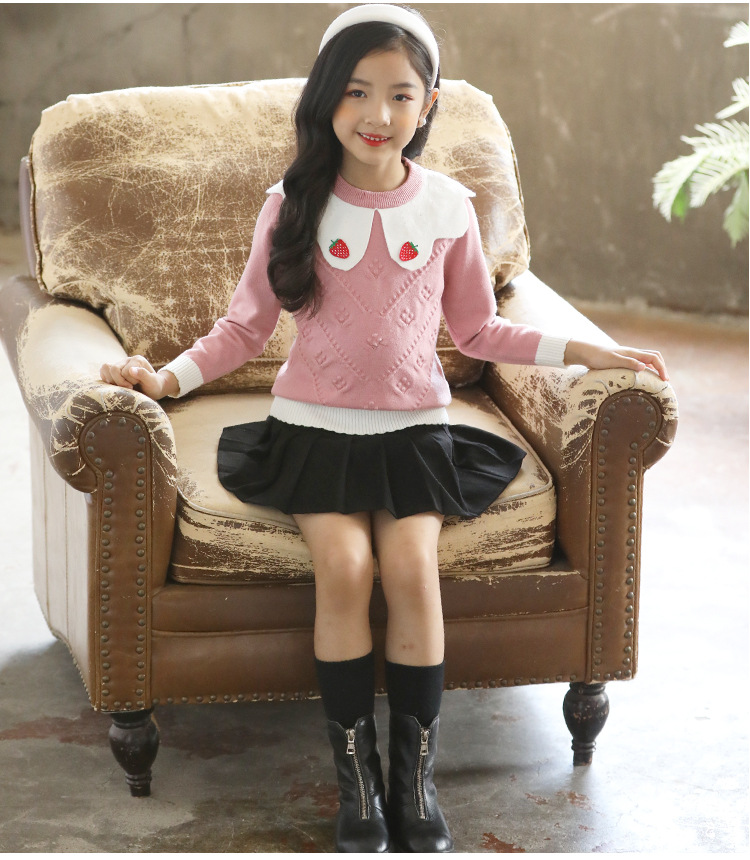 Western style girl sweater autumn and winter shirts