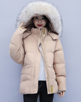 Fat loose large yard thick cotton coat for women