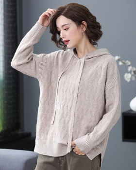 Lazy sweater large yard bottoming shirt for women