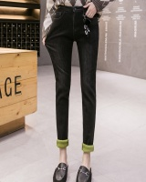 Pencil black jeans apple-green pencil pants