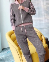 European style fashion knitted sweater 2pcs set for women