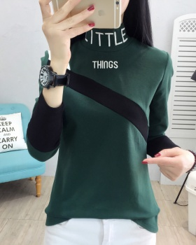 Korean style bottoming shirt thermal tops for women