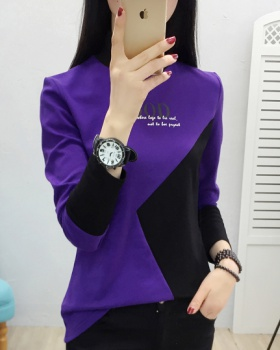 Korean style shirts thermal tops for women