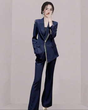 Chain profession business suit 2pcs set for women