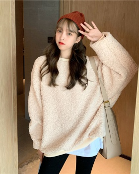 Lazy autumn and winter coat loose hoodie for women