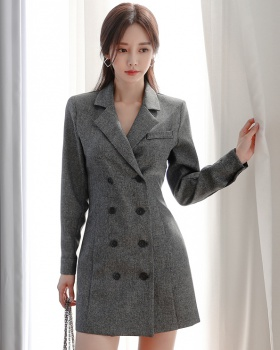 Autumn and winter business suit dress for women