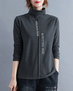 Loose bottoming shirt long sleeve T-shirt for women