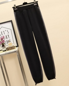 Thick long pants large yard casual pants for women