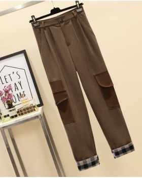 Autumn and winter long pants work pants for women
