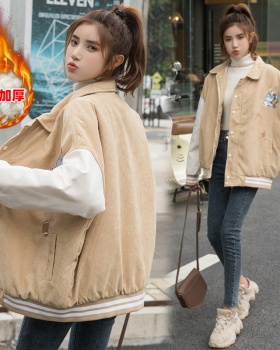 Winter Korean style jacket student cotton coat for women