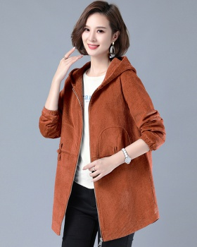 Middle-aged tops spring and autumn windbreaker for women